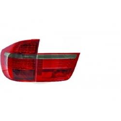 PILOTOS TRASEROS LED PARA BMW X5 E70. COLOR ROJO-AHUMADO.