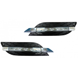 MODULO LUCES DIURNAS W211,06-09, CRISTAL/CLARO, INCL. REJILLA/AVANTGARDE.