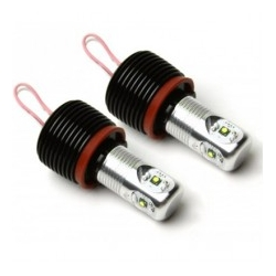 KIT BOMBILLAS ANGEL EYES LEDS H8 6W