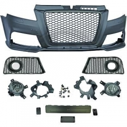 PARAGOLPES AUDI A3 , 08-12, LOOK RS3