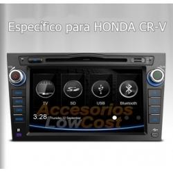 RADIO GPS 2 DIN 7 PULGADAS HD ESPECIFICO PARA HONDA CR-V