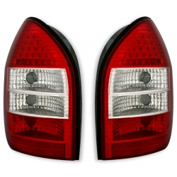 PILOTOS LED OPEL ZAFIRA 99-05. COLOR ROJO-CROMO.