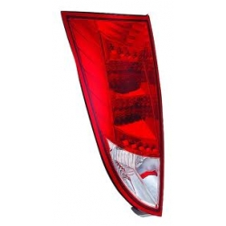 PILOTOS LED FORD FOCUS 98-04 COLOR ROJO-CROMO.