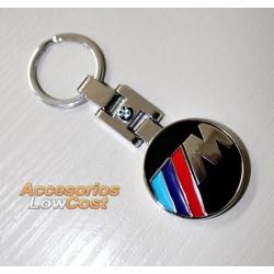 LLAVERO M PARA BMW EN METAL CROMADO