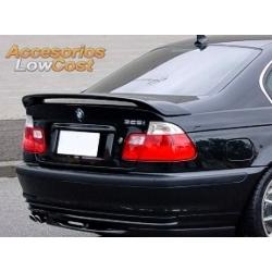 ALERON TRASERO EN ABS PARA BMW E46 BERLINA