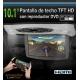 """PANTALLA TECHO 10"""" DVD PARA COCHE, ENTRADA DE USB Y TARJETA DEMEMORIA SD, CON 3 CARCASAS COLOR GRIS, BEIGE, NEGRO"""