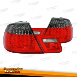 PILOTOS LED BMW E46 COUPE 99-03 ROJO AHUMADO
