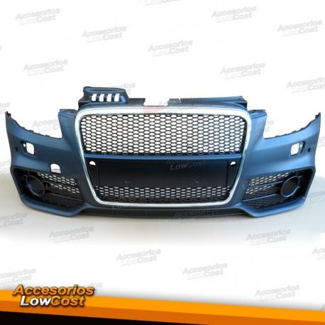 Paragolpes Deportivo Para Audi A4 04 07 Look Rs4rejilla C