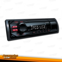 RADIO 1DIN KENWOOD KMM 261 CON USB FRONTAL.