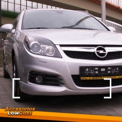 SPOILER FRONTAL OPEL VECTRA C LOOK OPC