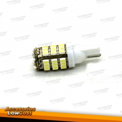 BOMBILLAS LEDS BLANCA T10 3W 42 SMD.