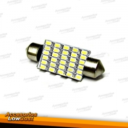 1 BOMBILLA LED MATRICULA O INTERIOR 42 MM