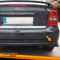 SPLITTER TRASEROS OPEL ASTRA G COUPE