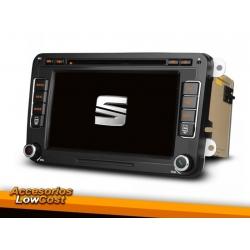 RADIO GPS 2 DIN 7 PULGADAS HD ESPECÍFICO PARA SEAT