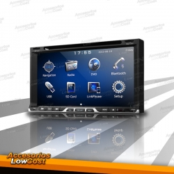 RADIO 2DIN GPS DVD CON PANTALLA TACTIL HD BLUETOOTH