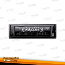 AUTO RADIO TACTIL / FM / MP3 / USB / SD / AUX