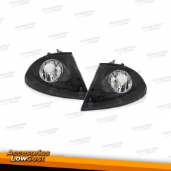 INTERMITENTE FRONTAL BMW E46 BERLINA E46,98-01- CRISTAL CLARO/NEGRO