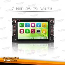 RADIO NAVEGADOR 7 PULGADAS HD ESPECIFICO PARA KIA