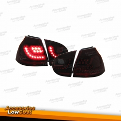 PILOTOS TRASEROS LED GOLF 5 CRISTAL ROJO