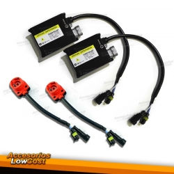 KIT COMPLETO 2 ADAPTADORES D2S Y BALASTROS CANBUS