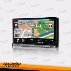 RADIO NAVEGADOR DVD 7 PULGADAS HD TACTIL GPS 3G MANOS LIBRES BLUETOOTH ENTRADAS DE USB TARJETA MEMORIA