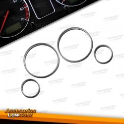 AROS CROMADOS PARA CUADRO DE INSTRUMENTOS PARA BMW SERIE 3 E30 M3