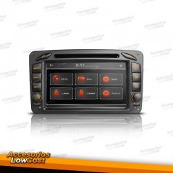 RADIO GPS ESPECIFICO 2 DIN 7 PULGADAS TACTIL PARA MERCEDES CLASE A, CLK, C, G, VITO