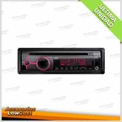 RADIO CD CLARION CZ 202ER CON USB FRONTAL.
