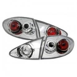Pilotos traseros con fondo cromado para Alfa Romeo 147