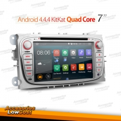 RADIO GPS ANDROID DE 7 PULGADAS DVD HD TACTIL PARA FORD
