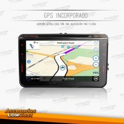 """RADIO GPS 8"""" DVD HD TACTIL ESPECIFICO SKODA."""