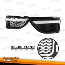 REJILLAS LATERALES (BRANQUIAS) RANGE ROVER SPORT (06-09) PIANO BLACK EDITION