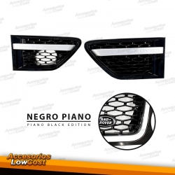 REJILLAS LATERALES (BRANQUIAS) RANGE ROVER SPORT (09-13) ALL BLACK EDITION