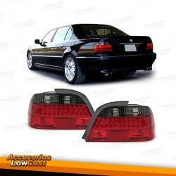 PILOTOS LED AHUMADO-ROJO PARA BMW SERIE 7 E38 94-01
