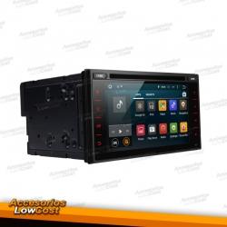 "RADIO GPS NAVEGADOR ANDROID 2 DIN 6,5"" HD TÁCTIL"