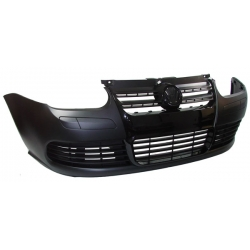 PARAGOLPES DELANTERO COLOR NEGRO PARA VOLKSWAGEN GOLF 4 IV LOOK GOLF 5 (1997-2003).