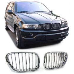 REJILLAS BMW X5 (99-03) CROMADO