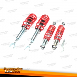 KIT SUSPENSIONES ROSCADAS AUDI A4 B5Q 1994 - 2001