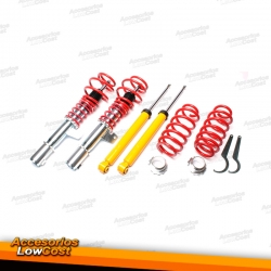 KIT SUSPENSIONES ROSCADAS VOLKSWAGEN GOLF 6 CABRIOLET 2008 -