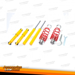 KIT SUSPENSIONES ROSCADAS PEUGEOT 106 09/1991 - 07/2003