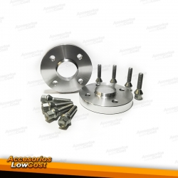 SEPARADORES 17 MM o57,0 PARA BMW E30, SEAT 6K, VW GOLF 2/3 4X100