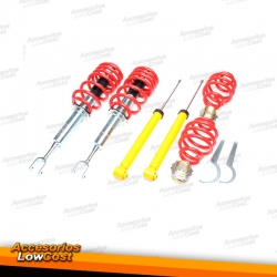 KIT SUSPENSIONES ROSCADAS AUDI/SEAT A4 11/2000 - 03/2008