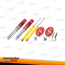 KIT SUSPENSIONES ROSCADAS BMW SERIE 3 E46 1998 -