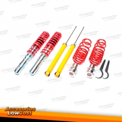 KIT SUSPENSIONES ROSCADAS VOLKSWAGEN GOLF 4 12/1998 - 11/2003