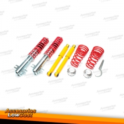 KIT SUSPENSIONES ROSCADAS FIAT PUNTO 1999 - 2007
