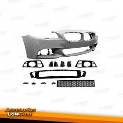 PARAGOLPES DELANTERO M-TECHNIC BMW SERIE 5 F10 / F11 (13-17) CON PDC Y LAVAFAROS