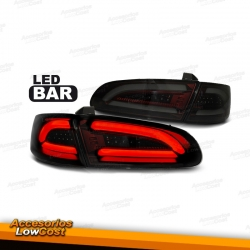 PILOTOS DE DISEÑO LIGHT BAR AHUMADOS PARA SEAT IBIZA 6L 02-08