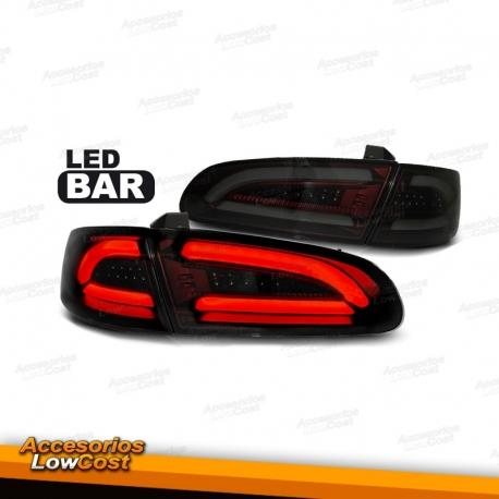 farolins traseiros light bar para seat ibiza 6l 02 08 escurecidos auto accesorioslowcost sl. Black Bedroom Furniture Sets. Home Design Ideas