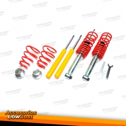KIT SUSPENSIONES ROSCADAS AUDI 100 4A, C4 12/1990 - 12/1997