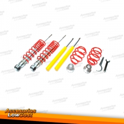 KIT SUSPENSIONES ROSCADAS AUDI 80 B4 09/1991 - 12/1994